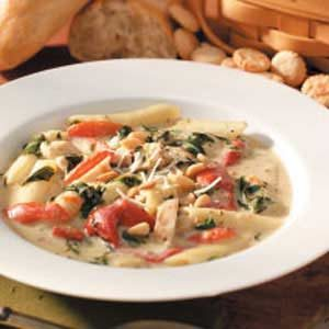 Florentine Chicken Soup