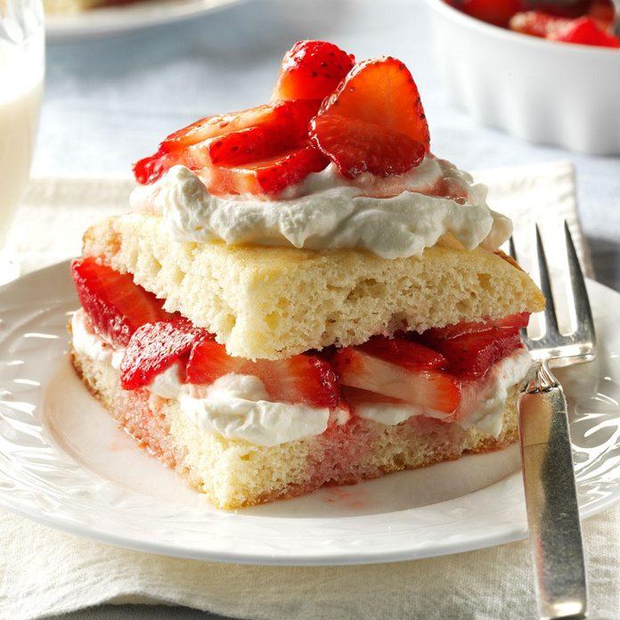 Inspired by: Cheesecake Factory Fresh Strawberry Shortcake