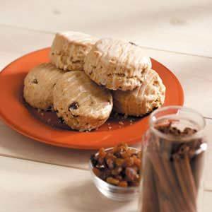 Cinnamon-Raisin Buttermilk Biscuits