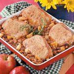 Bean and Pork Chop Bake