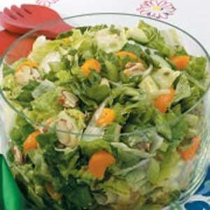 Almond-Orange Tossed Salad
