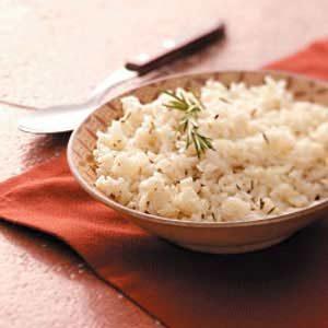 Light Rosemary Rice