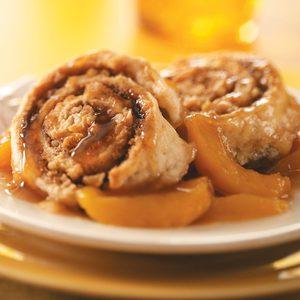 Cinnamon Biscuit Peach Cobbler
