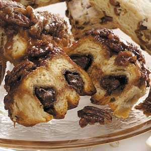 Chocolate-Pecan Sticky Buns