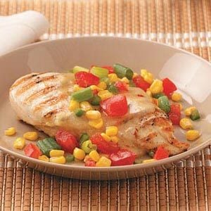 Chicken with Garden Salsa