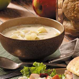 Quick Cream of Potato Soup