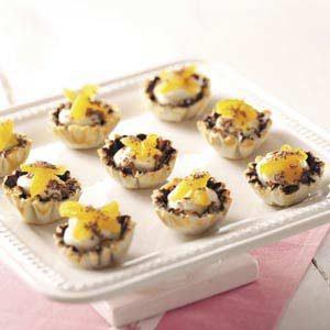 Apricot Cheesecake Tarts