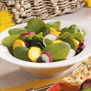 Colorful Spinach Salad