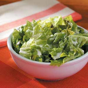 Lettuce with Buttermilk Dressing for 2
