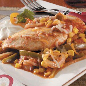 Salsa Chicken for 2