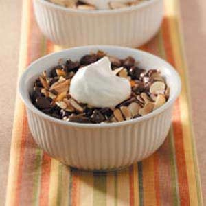 Chocolate Malted Bread Pudding