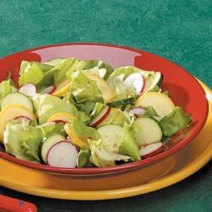 Italian Summer Squash Salad