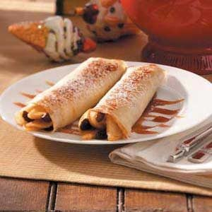 Apple Raisin Crepes