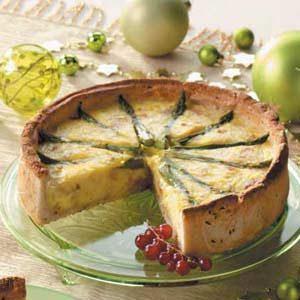 Hearty Asparagus Pie