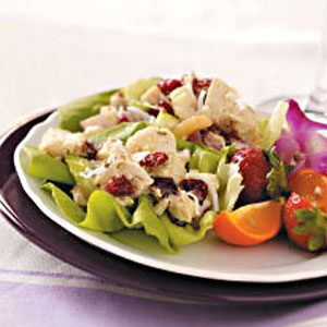 Curried Chicken Salad Cups