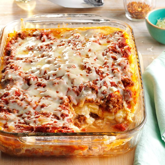 Four-Cheese Lasagna