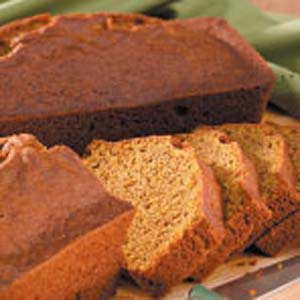 Whole Wheat Pumpkin Bread