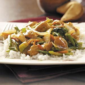 Easy Turkey Stir-Fry