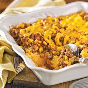 Western Beef and Corn Casserole