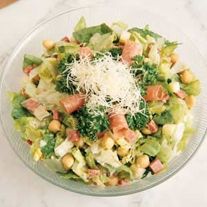 Chopped Salad with Parmesan Dressing