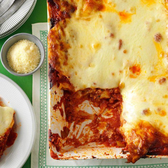 Hearty Sausage and Cheese Lasagna