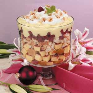 Raspberry Vanilla Trifle