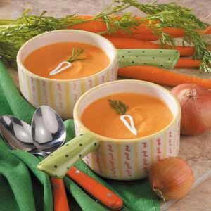 Rice and Carrot Soup