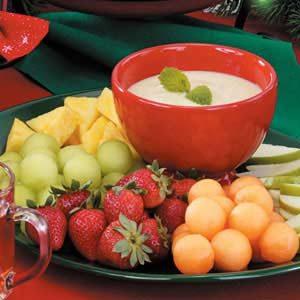 Honey-Lime Fruit Dip