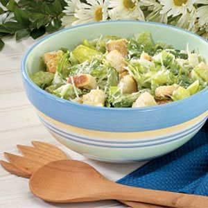 Quick Mock Caesar Salad