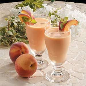 Peachy Fruit Smoothies