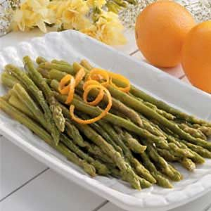 Asparagus with Orange Butter