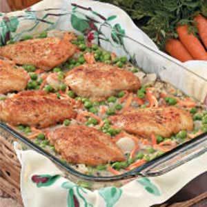 Chicken Wild Rice Bake