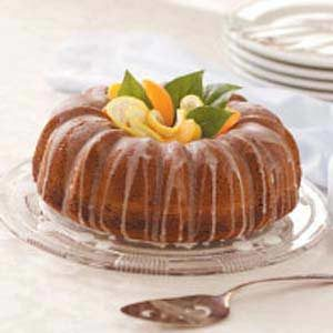 Fluted Lemon Cake