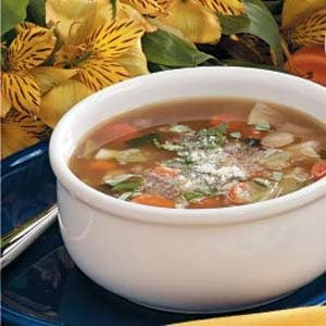 Bean Cabbage Soup