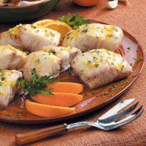 Red Snapper with Orange Sauce