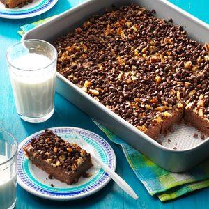 Yummy Zucchini Chocolate Cake