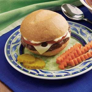 Bacon Swiss Burgers
