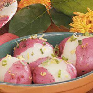 Lemony New Potatoes