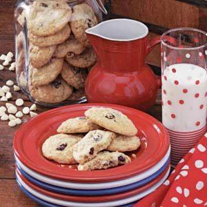 Cranberry Vanilla Chip Cookies