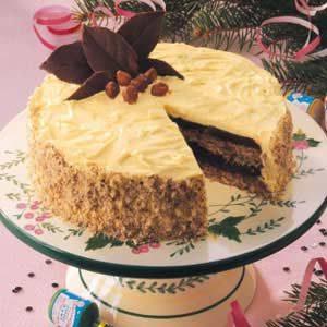 Hazelnut Mocha Torte