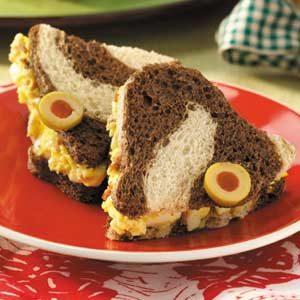 Eggcellent Finger Sandwiches