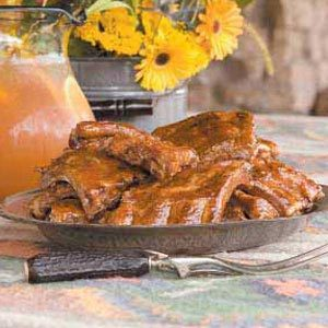 Lemon-Ginger Barbecued Ribs