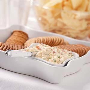 Garlic-Onion Cheese Spread