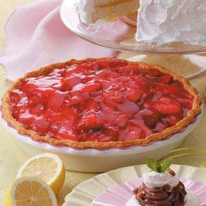 Strawberry Shortbread Pie