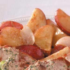 Light Rosemary Red Potatoes