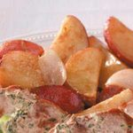 Light Rosemary Red Potatoes