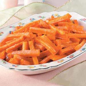 Sweet Candied Carrots