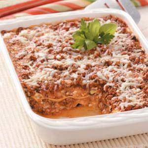 Garden-Style Beef Lasagna