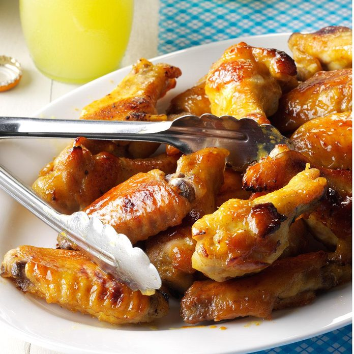 Honey-Mustard Chicken Wings