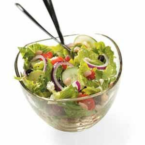 Navy Bean Tossed Salad